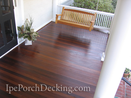Ipe Porch Decking Photo Gallery